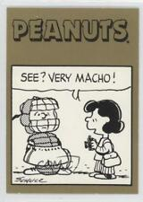 1992 ProSports Peanuts Classics #328 See? Very macho! Non-Sports Card 5v2