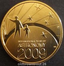 2009 $1 Australian Stargazing 'P' Perth Mintmark Coin