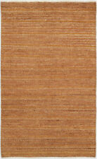 3X5 Hand-Knotted Gabbeh Carpet Traditional Brown Fine Wool Area Rug D35607