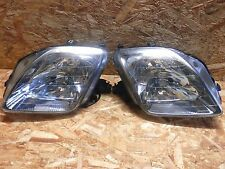 1996 2001 JDM HONDA PRELUDE SIR BB5/6/7/8 CHROME HID HEADLIGHT SET RARE ITEM OEM