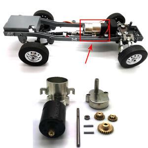 WPL D12 Upgraded Full Metal Gear Box with Motor For 1/10 RC Car DIY Repair Parts