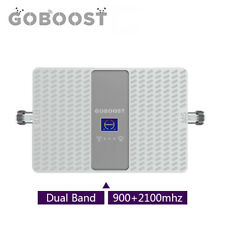 Goboost Dual band 900/2100mhz Band1/8 Handy-Signalverstärker phone  Booster 70db