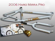 COLLECTABLE BMX BIKE 2006 HARO DAVE MIRRA PRO FRAME, FORK, AND STEM