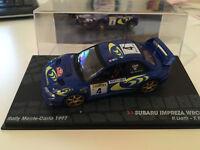 SUBARU IMPREZA WRC97   MONTE CARLO 1997 liatti 1.43