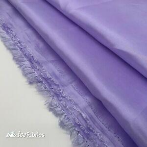 Lavender Taffeta Fabric By The Yard- Solid Poly Taffeta Fabric- Decoration
