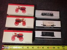 estate lot of 6 model railroad cars in original boxes
