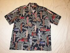 Pacific Legend Shirt - Men's XL - Woody Cars - Surfboards - Made in Hawaii