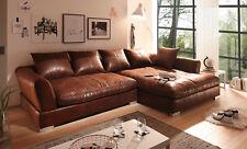 BIG Sofa - Vintage Braun - Rechts - Modell MAXIMUS (Sondermaße möglich )