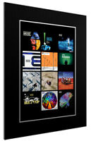 MOUNTED / FRAMED PRINT MUSE DISCOGRAPHY 3 SIZES POSTER GIFT ARTWORK
