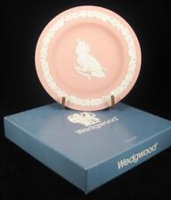 Wedgwood Pink Jasperware Australian Birds Cockatoo Small Dish IN BOX
