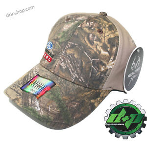 Stretch fit Real tree ball cap hat ford powerstroke diesel mossy flex fitted oak