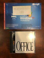 Combo New Sealed Microsoft Windows XP Professional and Microsoft Office