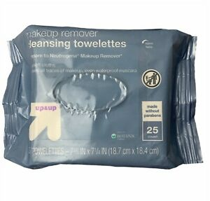 2x Up & Up Makeup Remover Cleansing Ultra Soft Towelettes Wipes 25 ct. ea.