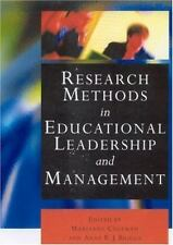 Research Methods in Educational Leadership and Management (Centre for-ExLibrary
