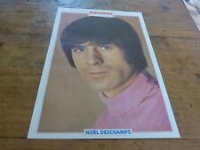 NOEL DESCHAMPS - Mini poster couleurs !!! JUKEBOX !!!!!!