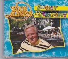 Koos Alberts-Zomer Hitmedley cd maxi single