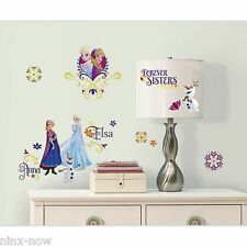 Disney Frozen Anna Elsa Spring Time Removable Wall Decal Stickers Mural Licensed