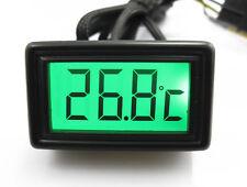 XSPC LCD Temperature Sensor V2 & Flat Sensor Green