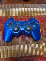 Genuine OEM Sony Playstation 3 PS3 Dualshock 3 SixAxis Wireless Controller Blue