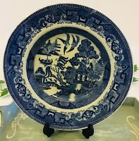 """Blue Willow Pattern Soup Bowl 9.2"""" Country Kitchen Replacement"""