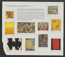 US, Scott #4444 - 44c Abstract Expressionists Sheet of 10 MNH