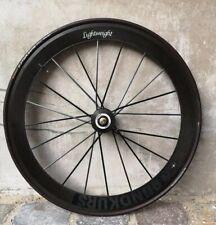 "Lightweight Rundkurs 28""Carbon Laufrad Front Wheel Track Pista Bahnrad 700c"