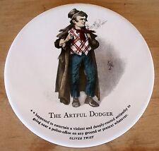 VTG Trivet Tile Coaster H&R Johnson Ltd England THE ARTFUL DODGER Oliver Twist