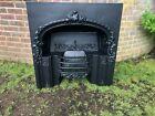 WONDERFUL Victorian Cast Iron Fireplace