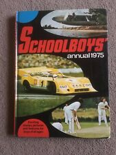 SCHOOLBOYS ANNUAL 1975 *** Unclipped ***
