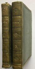 La Divina Commedia Di Dante Alighieri - Dalla Libreria Di Pallad, Firenze (1818)