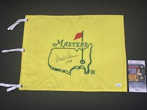 Mark O'Meara signed Masters pin flag 1998 Champion. JSA LL40714
