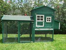 Chicken Coop Somerzby Green Mansion Rabbit Hutch Cat Enclosure Chook Pen Cage