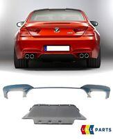 BMW Neu Original 6 Serie F06 F12 F13 M6 Hintere Stoßstange Diffusor mit