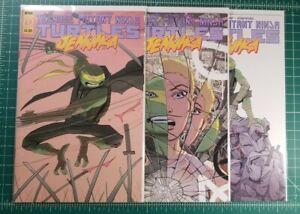 Teenage Mutant Ninja Turtles Jennika #1-3 (2020) NM+ Complete Set TMNT IDW 1 2 3