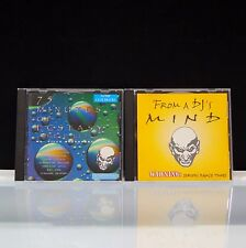 2 CD Lot From A DJ's Mind 75 Min Of Ecstasy 1997 MadBob Productions England
