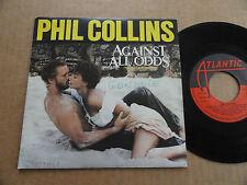 """DISQUE  45T DE PHIL COLLINS  """" AGAINST ALL ODDS """""""
