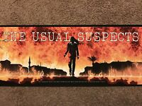The Usual Suspects Matt Ferguson Art Print Movie Poster Mondo Kevin Spacey Rare!