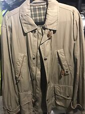 $595! NEW Polo Ralph Lauren Men's Tan Beige Safari / Car Coat Jacket L - NICE!