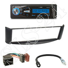 Caliber RMD055 Autoradio + Smart ForTwo(A/C450) Blende schwarz + ISO Adapter