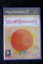 PS2 : WE LOVE KATAMARI - Nuovo, sigillato, ITA ! Stile grafico unico !