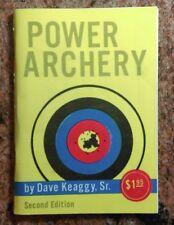 Power Archery - Dave Keaggy SIGNED to Archery HOFer Margaret Klann