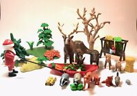 EUC Playmobil 4155 Christmas in the Forest Animals Advent Calendar Near Complete