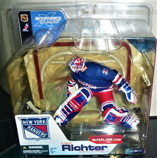 McFarlane MIKE RICHTER New York Rangers 2002 NHL Variant Action Figure Series 4