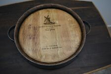 Wine Barrel Lazy Susan Handmade Small Napa Valley