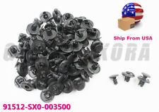 OEM New Set of 50 Front Fender Clips Retainer Bumper Rivet For Honda Accord