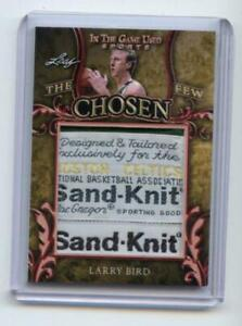 2020 Leaf In The Game Used Sports The Chosen Few Larry Bird 1/1