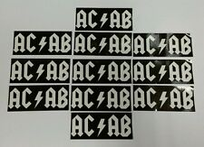 12x Autocollants acab-AMF-ultras casuals terrasse football stickers - 1312