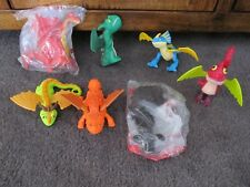 HOW TO TRAIN YOUR DRAGON 1 & 2...7 DRAGONS.....2 new in plastic....Dreamworks