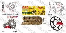 Honda CRF450 R-2,R-3 02-03 DID X Ring Gold Chain Kit 13/50t 520/114