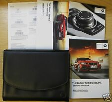 BMW 2 COUPE F22 HANDBOOK OWNERS MANUAL WALLET 2013-2016 PACK 8450